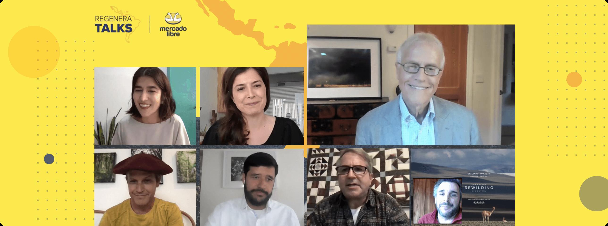 Regenera Talks Mercado Livre